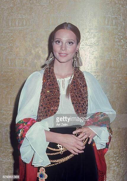 Leigh TaylorYoung in gypsy costume circa 1970 New York