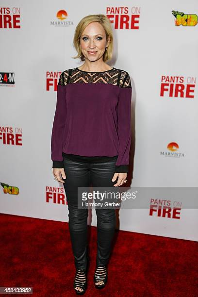 LeighAllyn Baker arrives to the Disney XD Pants On Fire premiere on November 4 2014 in Hollywood California
