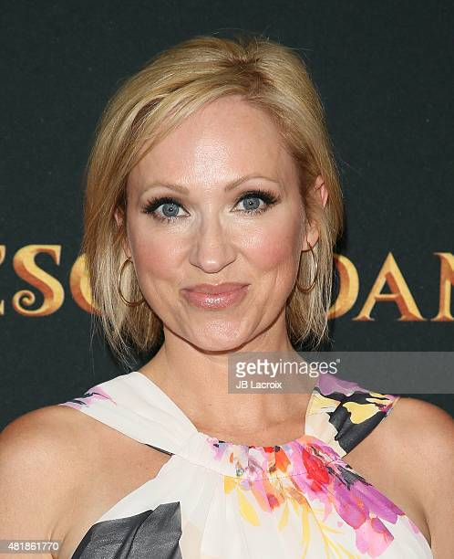 LeighAllyn Baker attends the premiere of Disney's 'Descendants' at Walt Disney Studios main theater on July 24 2015 in Burbank California