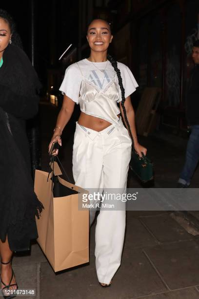 LeighAnne Pinnock at Soho House on March 10 2020 in London England