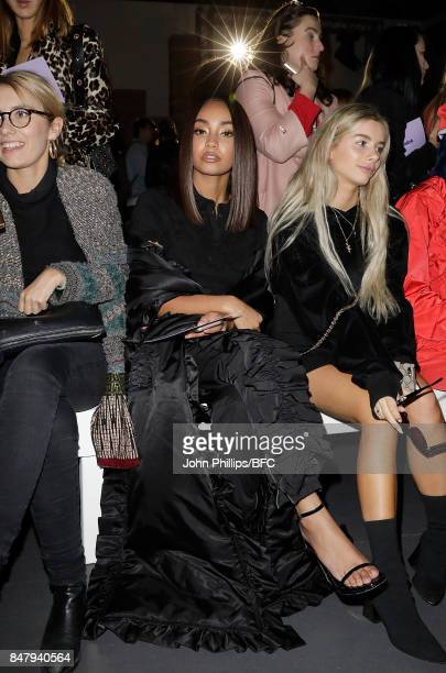 LeighAnne Pinnock attends the Nicopanda show during London Fashion Week September 2017 on September 16 2017 in London England
