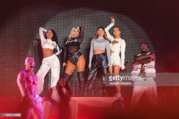 LeighAnne Pinnock Jesy Nelson Jade Thirlwall and Perrie Edwards of Little Mix performs on stage during day 3 of Fusion Festival 2019 on September 01...
