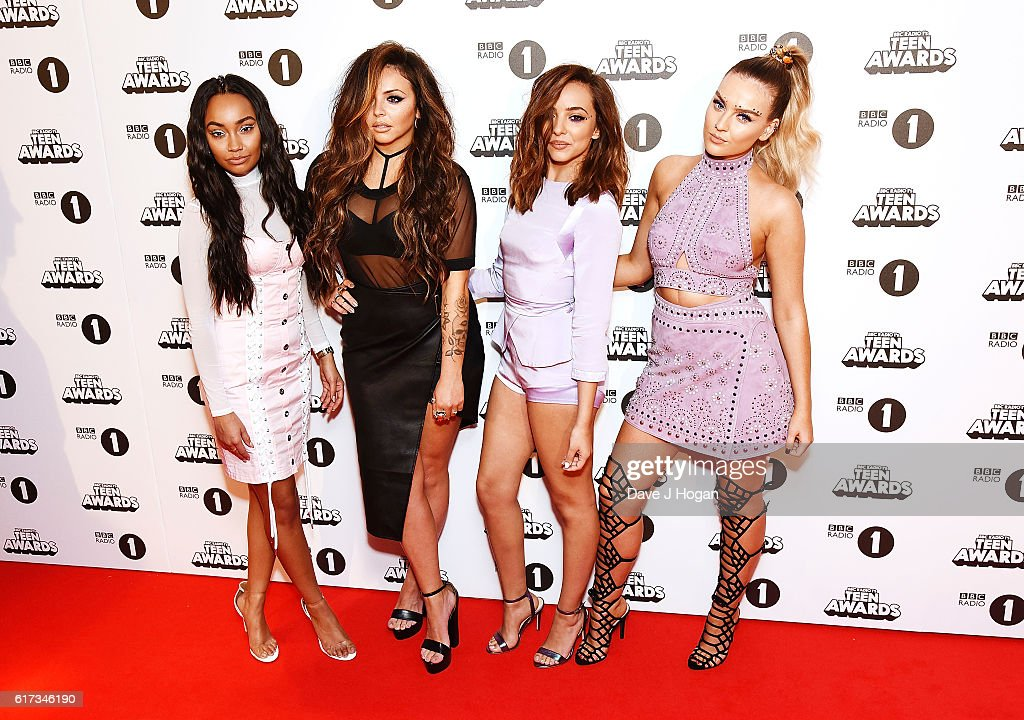 Leigh-Anne Pinnock, Jesy Nelson, Jade Thirlwall and Perrie Edwards of Little Mix attend the BBC Radio 1's Teen Awards at SSE Arena Wembley on October 23, 2016 in London, England.