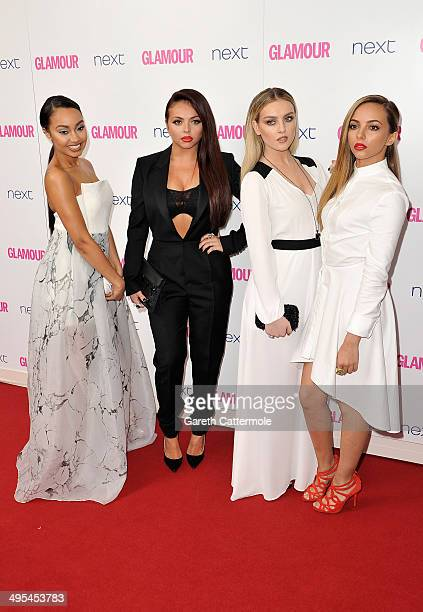 Leigh-Anne Pinnock, Jesy Nelson, Perrie Edwards and Jade Thirlwall from Little Mix attend the Glamour Women of the Year Awards at Berkeley Square...