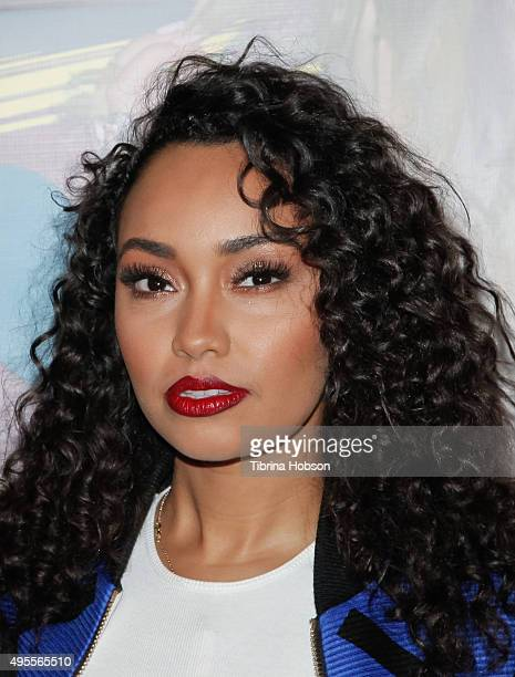 LeighAnne Pinnock of Little Mix attends the Los Angeles album signing for Little Mix at Hard Rock Cafe Hollywood CA on November 3 2015 in Hollywood...