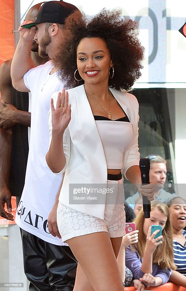 Little Mix Performs On NBC's 'Today' : News Photo