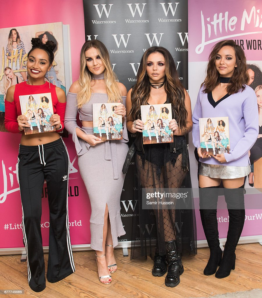 Little Mix Sign Copies Of Their New Book 'Our World' : News Photo