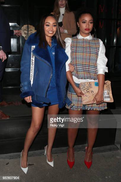 LeighAnne Pinnock seen attending the launch of spring issue of Wonderland Magazine at MNKY HSE on March 15 2018 in London England