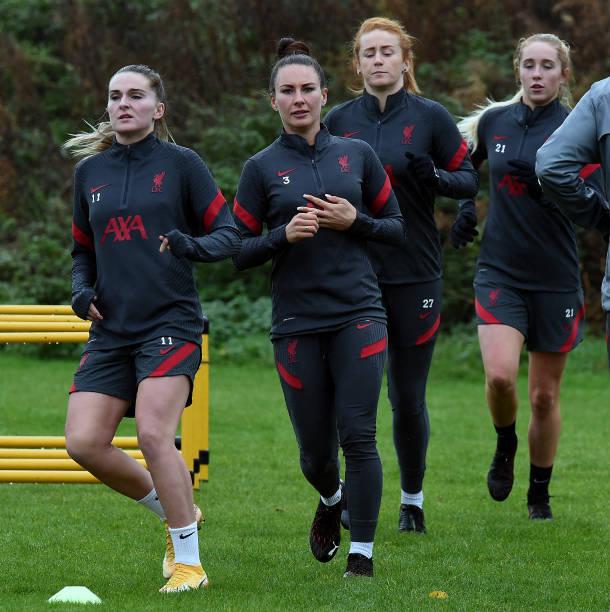 GBR: Liverpool FC Women Training Session