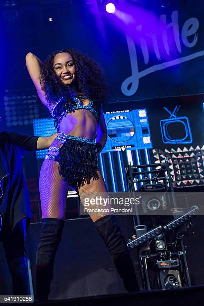 LeighAnnePinnock of Little Mix Perform at Assago Summer Arena on June 20 2016 in Milan Italy