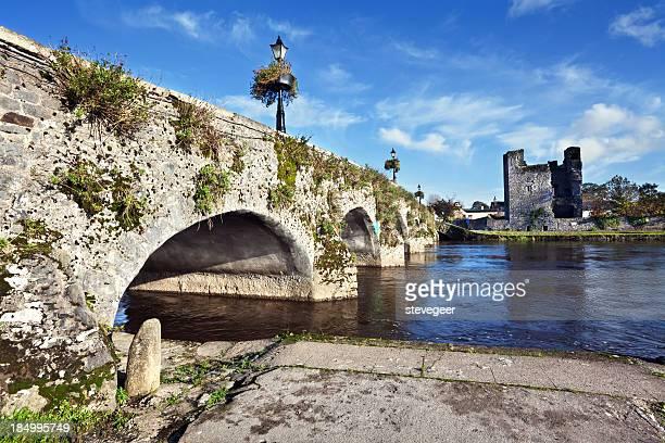 Leighlinbridge in County Kilkenny, Ireland