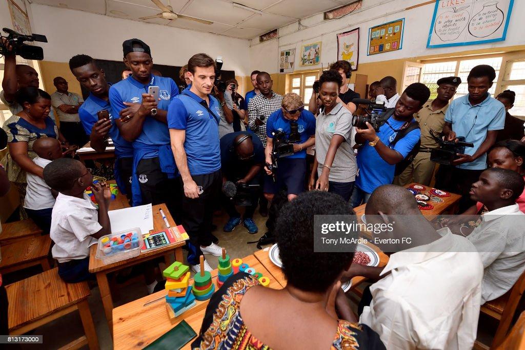 Everton Visit Uhuru Primary School