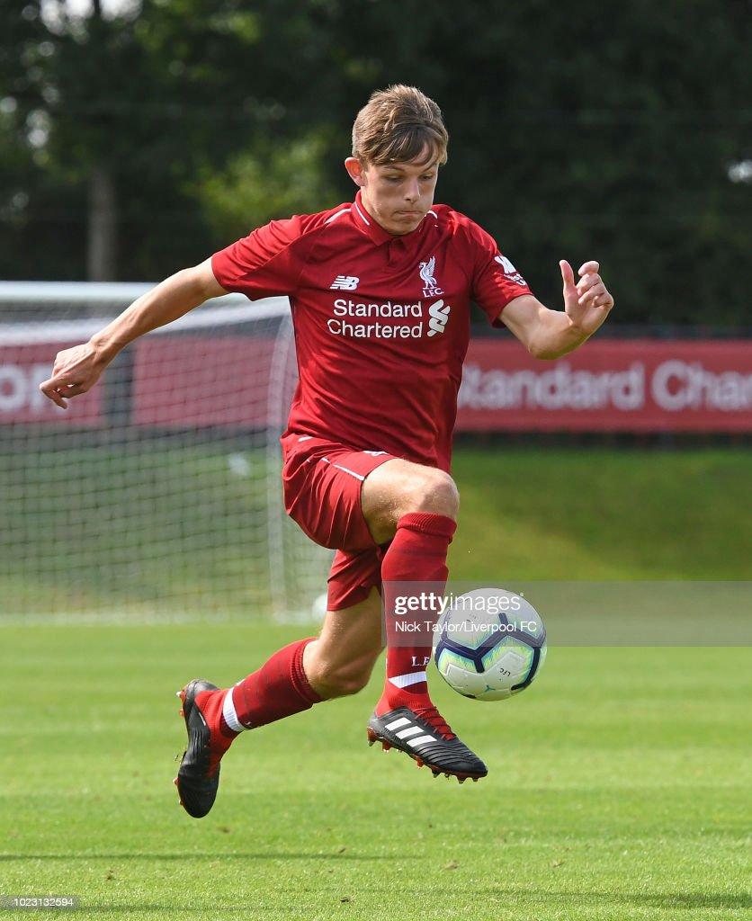 Liverpool v West Bromwich Albion - U18 Premier League : News Photo