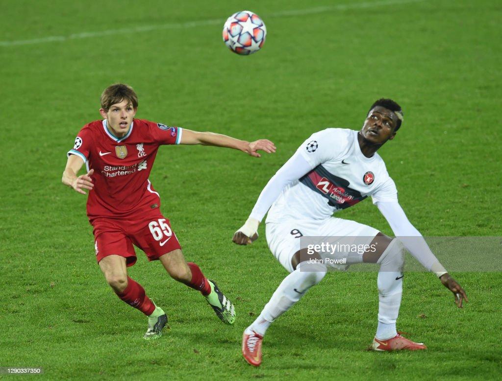 FC Midtjylland v Liverpool FC: Group D - UEFA Champions League : ニュース写真