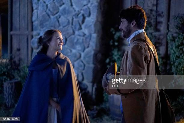 Leighton Meester and Adam Pally in the series premiere of MAKING HISTORY airing Sunday March 5 on FOX