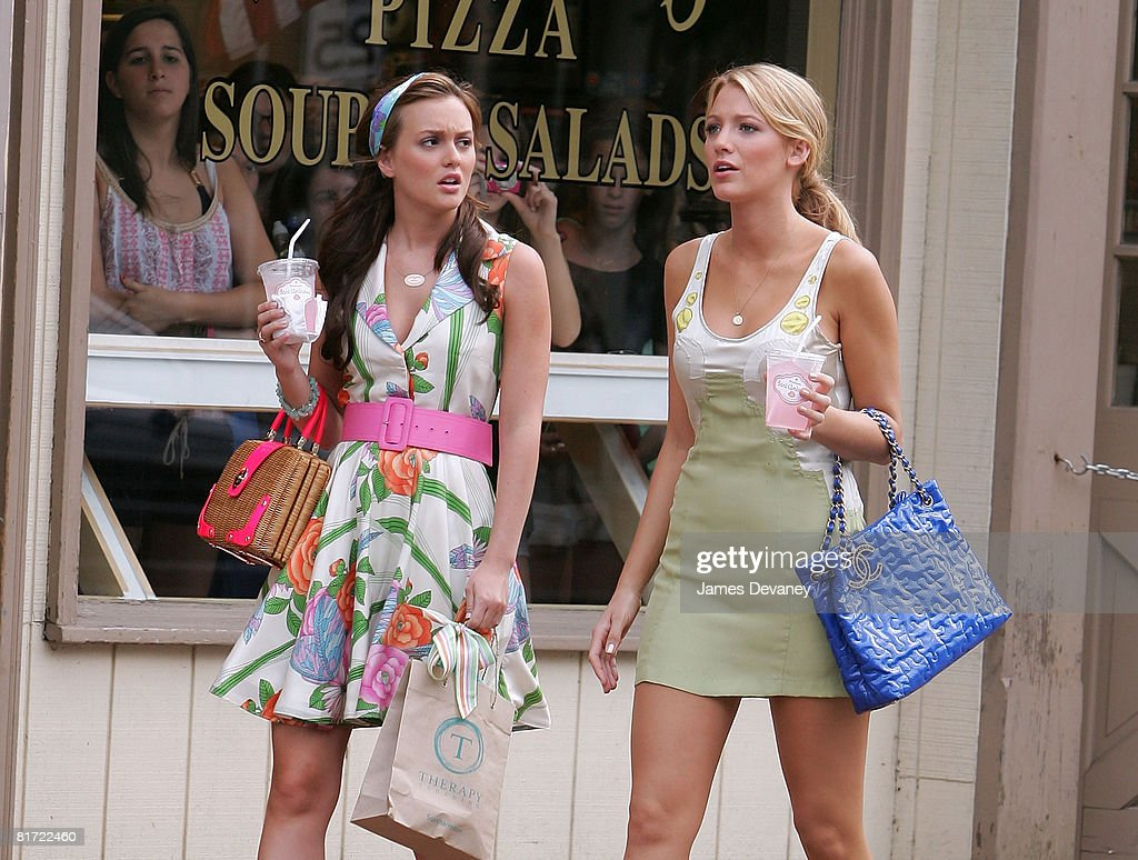 "On Location for ""Gossip Girl"" - June 25, 2008 : News Photo"