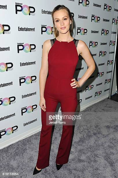 Leighton Meester attends Entertainment Weekly's Popfest at The Reef on October 29 2016 in Los Angeles California