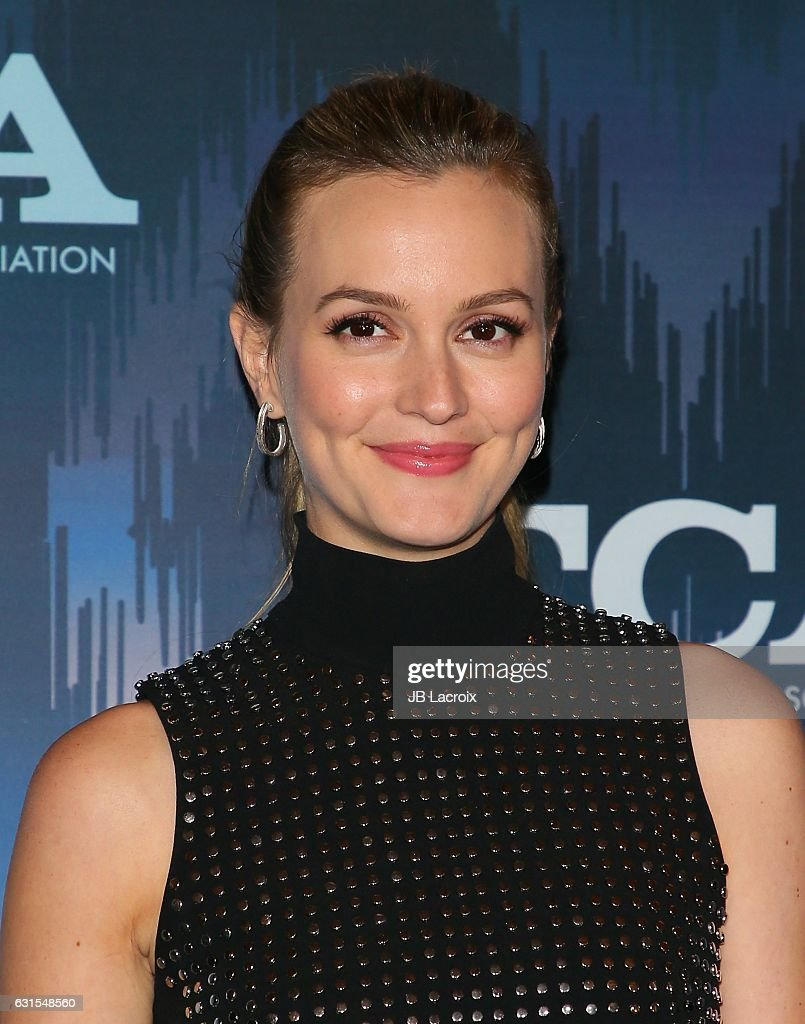 Leighton Meester attends the 2017 Winter TCA Tour - FOX All-Star Party on January 11, 2017 in Pasadena, California.