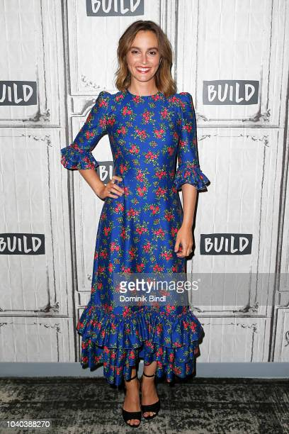 Leighton Meester attends the Build Series to discuss 'Single Parents' at Build Studio on September 25 2018 in New York City