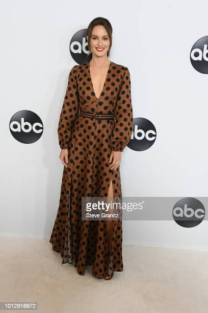 Leighton Meester attends the Disney ABC Television TCA Summer Press Tour at The Beverly Hilton Hotel on August 7 2018 in Beverly Hills California