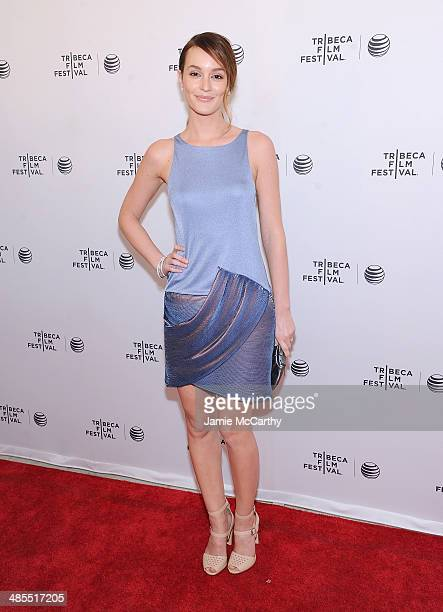 Leighton Meester attends the Life Partners screening during the 2014 Tribeca Film Festival at SVA Theater on April 18 2014 in New York City