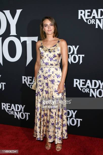 Leighton Meester attends the LA Screening Of Fox Searchlight's Ready Or Not at ArcLight Culver City on August 19 2019 in Culver City California