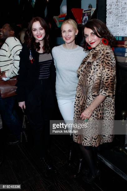 Leighton Meester Kelly Rutherford and Nathalie Rykiel attend SONIA RYKIEL POUR HM Exclusive Preview at Bobo on February 4 2010 in New York City