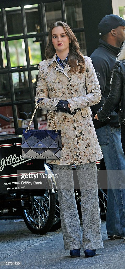 """On Location For """"Gossip Girl"""" : News Photo"""
