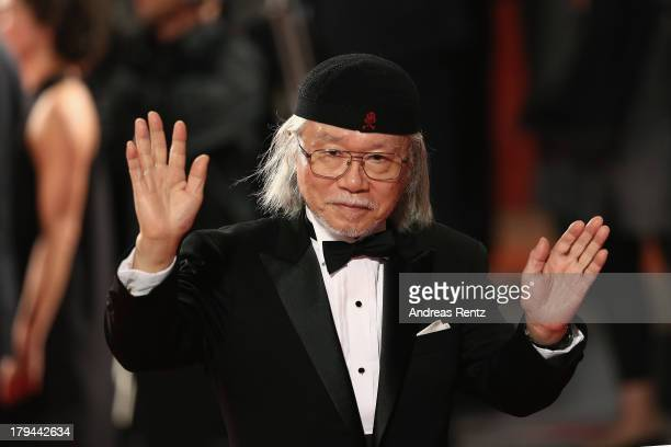 Leiji Matsumoto attends the 'Harlock Space Pirate' Premiere at the 70th Venice International Film Festival at Palazzo del Cinema on September 3 2013...