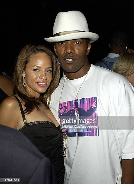 Leila Arcieri and Jamie Foxx during 2004 ESPY Awards Jamie Foxx After Party at Skybar at The Mondrian in Los Angeles California United States