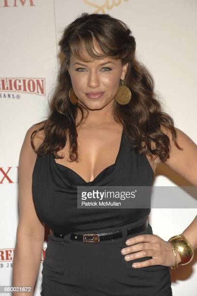 Leila Arcieri attends Maxim's 10th Annual Hot 100 Celebration at The Barker Hangar on May 13 2009 in Santa Monica California