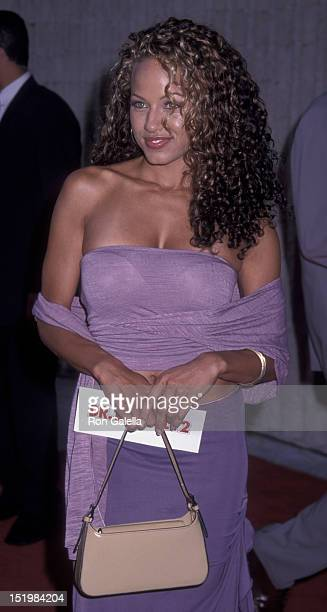 Leila Arcieri attends the premiere of Dr Dolittle 2 on June 20 2001 at the Avco Center Cinema in Westwood California