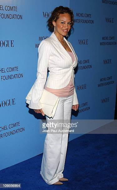 Leila Arcieri during Helena Christensen and Michel Comte Host Gala to Benefit the Michel Comte Foundation Arrivals at Ace Gallery in Beverly Hills...
