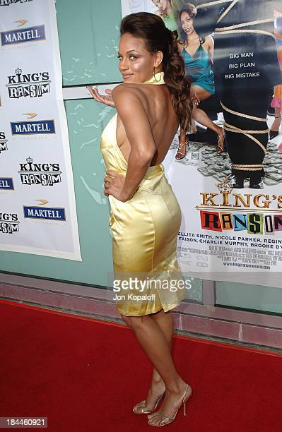 Leila Arcieri during King's Ransom Los Angeles Premiere Arrivals at ArcLight Cinerama Dome in Hollywood California United States