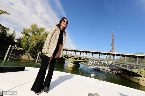 Leila Behkti attends Le Defile L'Oreal Paris as part of Paris Fashion Week Womenswear Spring/Summer 2019 on September 30 2018 in Paris France