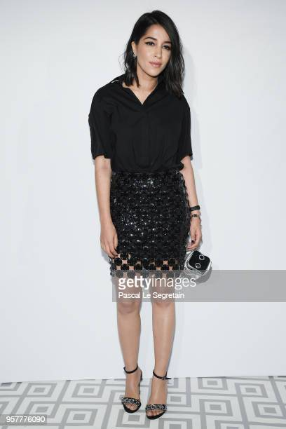 Leila Bekhti attends a Dior dinner during the 71st annual Cannes Film Festival at JW Marriott on May 12 2018 in Cannes France
