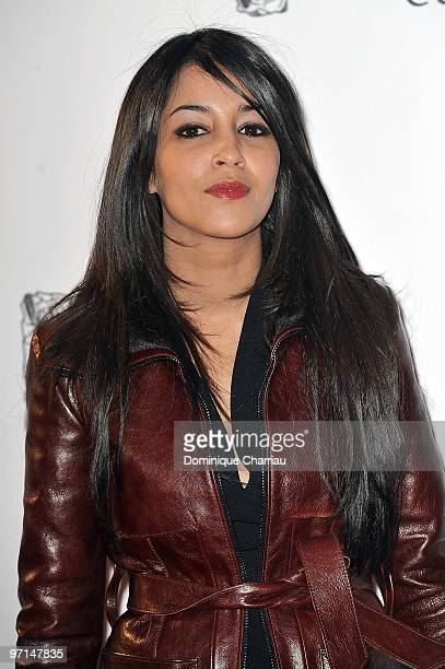 Leila Bekhti attends the 35th Cesar Film Awards at Theatre du Chatelet on February 27 2010 in Paris France