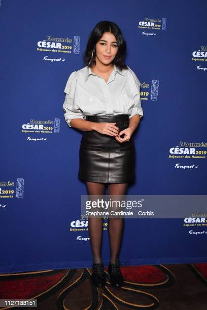 Leila Bekhti attends the Cesar 2019 Nominee Luncheon at Le Fouquet's on February 03 2019 in Paris France