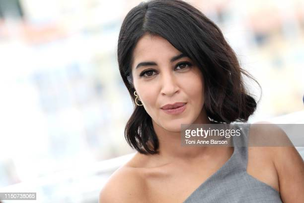 Leila Bekhti attends the photocall for La Fameuse Invasion Des Ours En Sicile during the 72nd annual Cannes Film Festival on May 21 2019 in Cannes...