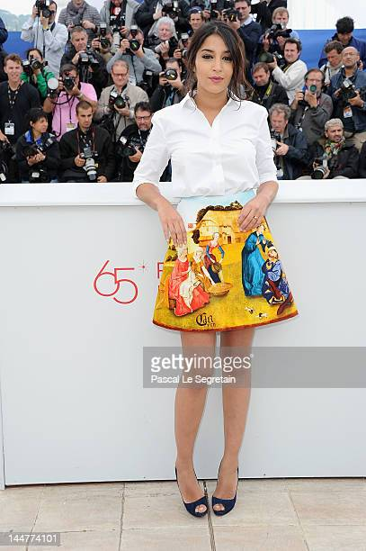Leila Bekhti poses at the Jury Un Certain Regard photocall during the 65th Annual Cannes Film Festival at Palais des Festivals on May 19 2012 in...