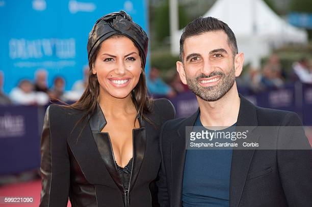 Leila Boumedjane and Kheiron attend the Where To Invade Next Premiere during the 42nd Deauville American Film Festival on September 4 2016 in...