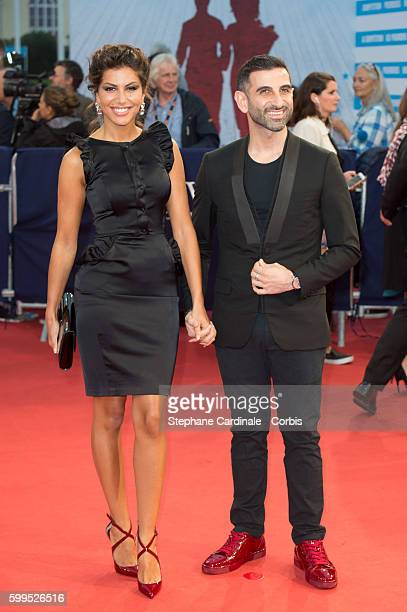 Leila Boumedjane and Kheiron attends the In Dubious Battle Premiere during the 42nd Deauville American Film Festival on September 5 2016 in Deauville...