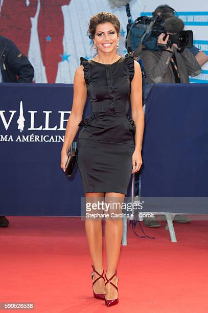 Leila Boumedjane attends the In Dubious Battle Premiere during the 42nd Deauville American Film Festival on September 5 2016 in Deauville France