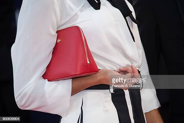 Leila Boumedjane attends the premiere of War On Everyone during the 42nd Deauville American Film Festival on September 8 2016 in Deauville France