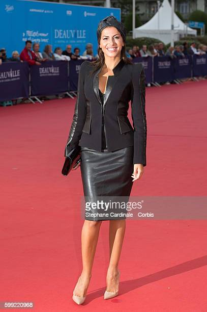 Leila Boumedjane attends the Where To Invade Next Premiere during the 42nd Deauville American Film Festival on September 4 2016 in Deauville France