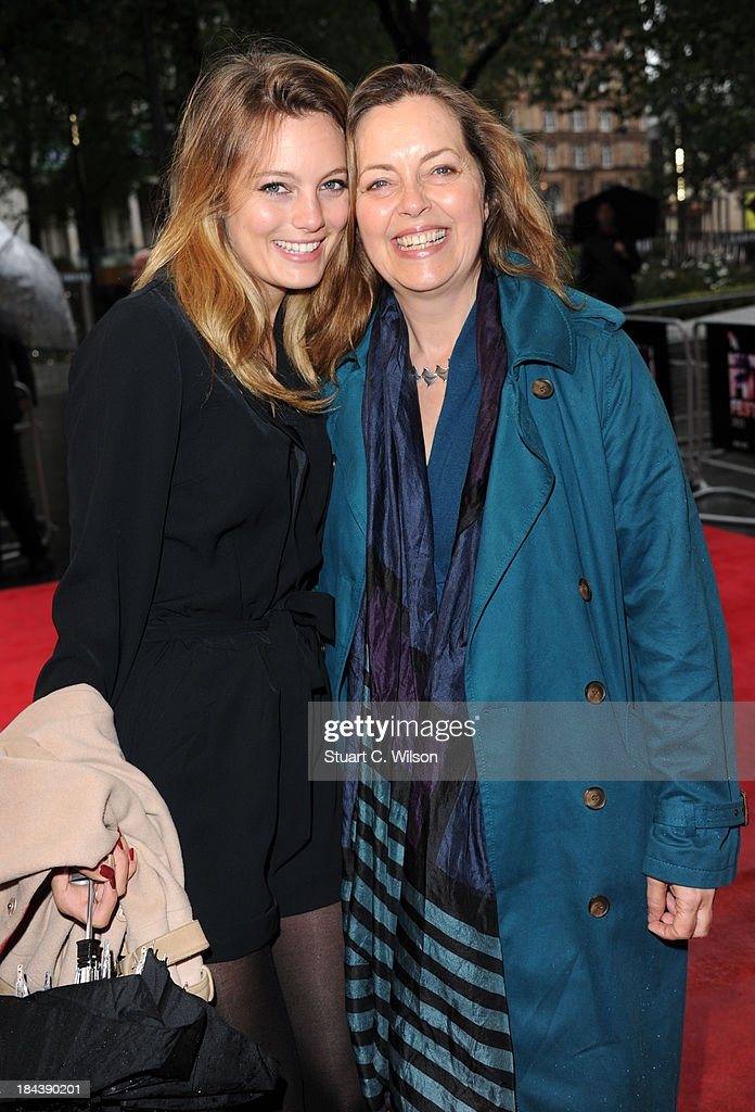Leila George and Great Scacchi attends a screening of 'The Last Impresario' during the 57th BFI London Film Festival at Odeon West End on October 13, 2013 in London, England.