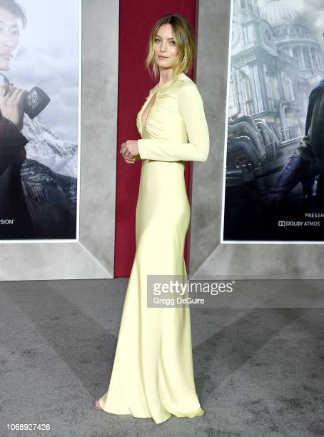 Leila George arrives at the Premiere Of Universal Pictures' Mortal Engines at Regency Village Theatre on December 5 2018 in Westwood California