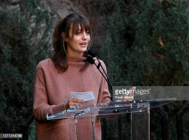 """Leila George attends """"Meet Me In Australia"""" To Benefit Australia Wildfire Relief Efforts, hosted by The Greater Los Angeles Zoo Association, at Los..."""