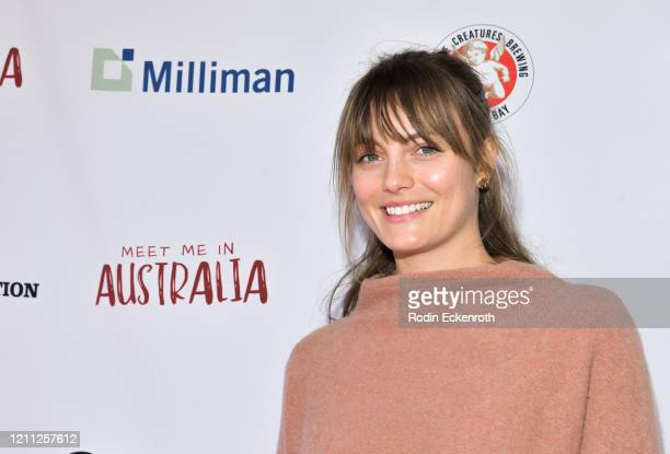 """Leila George attends The Greater Los Angeles Zoo Association Hosts """"Meet Me In Australia"""" To Benefit Australia Wildfire Relief Efforts at Los Angeles..."""