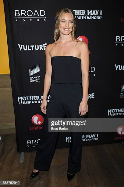 Leila George attends the Lifetime Sony Pictures Television And Vulture Host Screening Of James Franco's Revamped Version Of Mother May I Sleep With...